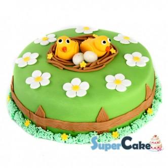 Vrolijke Paas taart