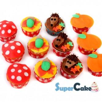 herfst-cupcakes