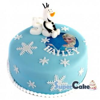 frozen-olaf-taart-cake
